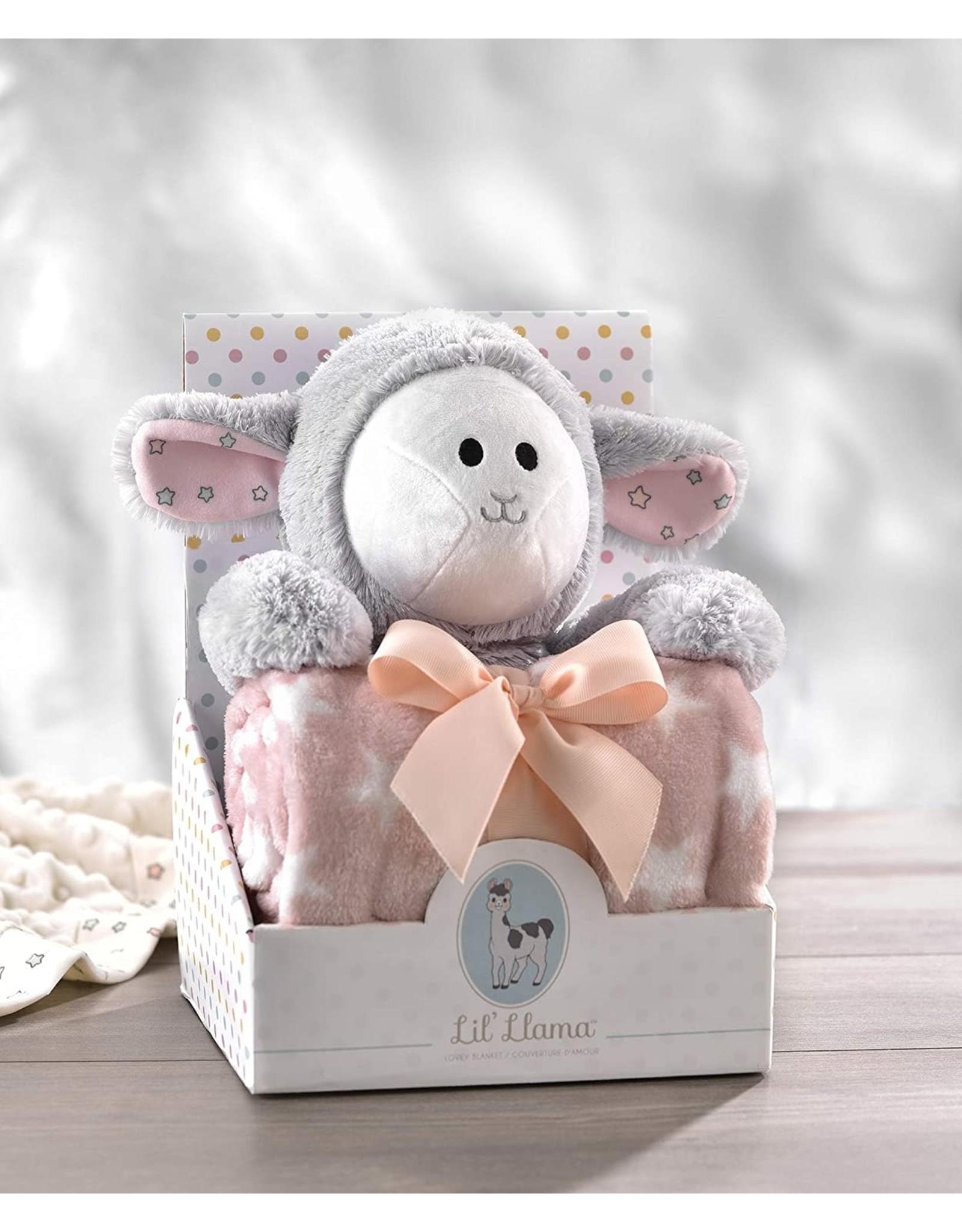 Lil' Llama Plush Toy & Blanket