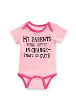 Baby Ganz Diaper shirt My Parents 0-6M