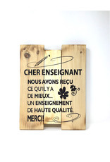 Une Touche D'elegance Teacher Wall Decor