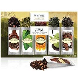 Tea Forte Single Steeps pre-portioned loose leaf tea
