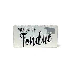 Fondue Block Table Sing