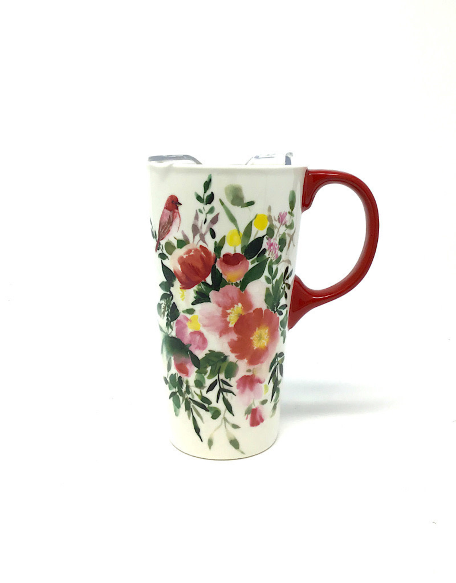 Evergreen Travel Cup flowers