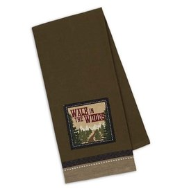 Design Imports Kitchen Towel Walk In The Woods