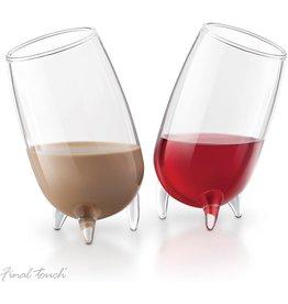 Final Touch Liqueur Glasses