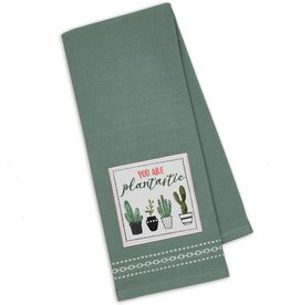 Design Imports Kitchen Towel You Are Plantastic