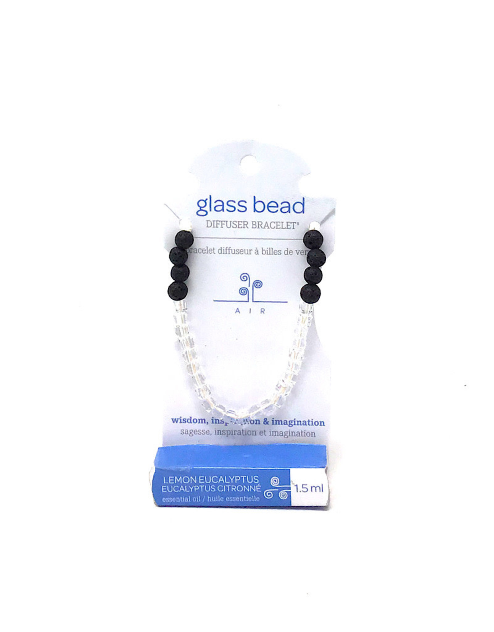 Glass Bead Diffuser Braclet