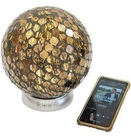 Ambience Mosaic Glass Ball Bluetooth Speaker