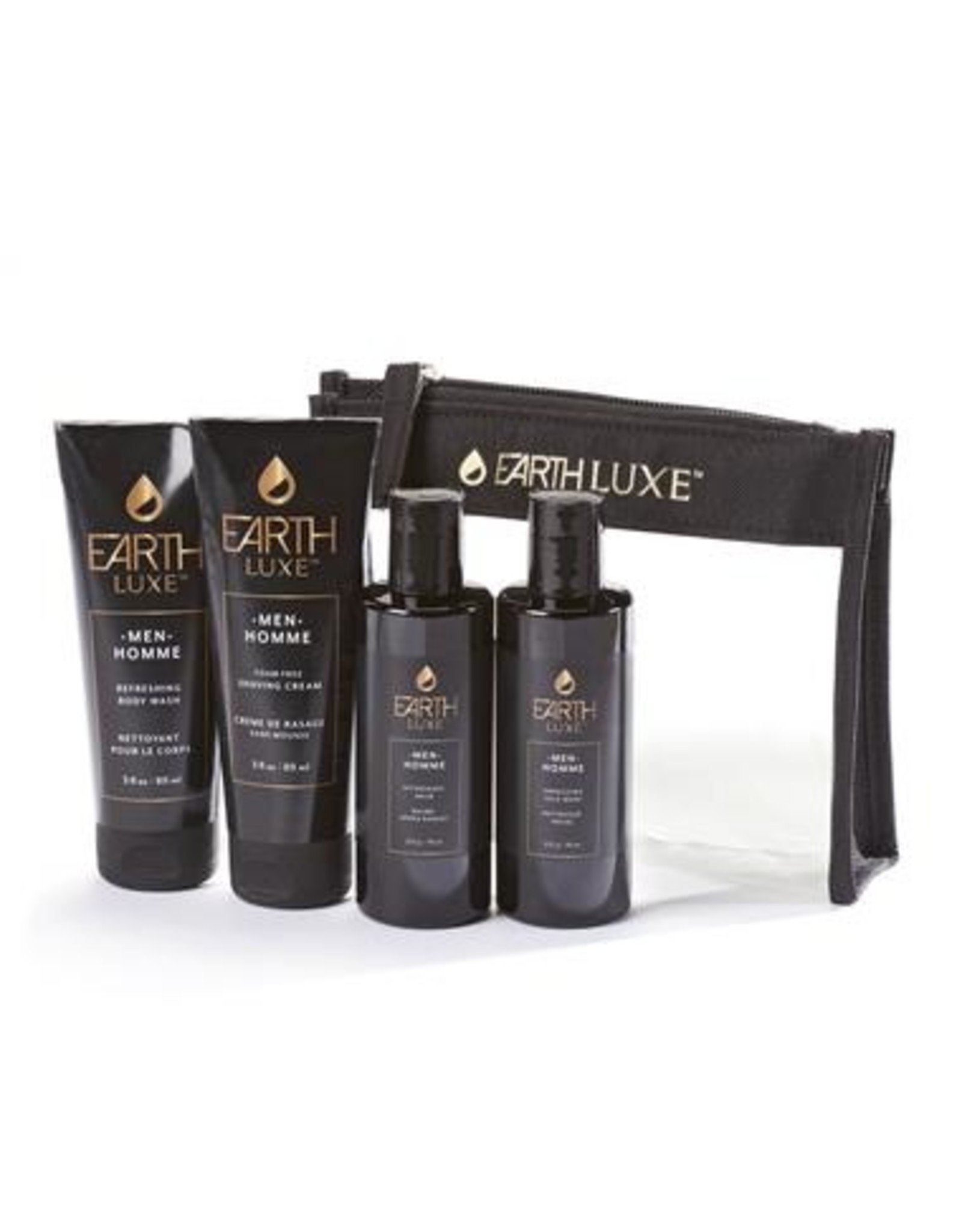 Earth Luxe Travel Kit Men