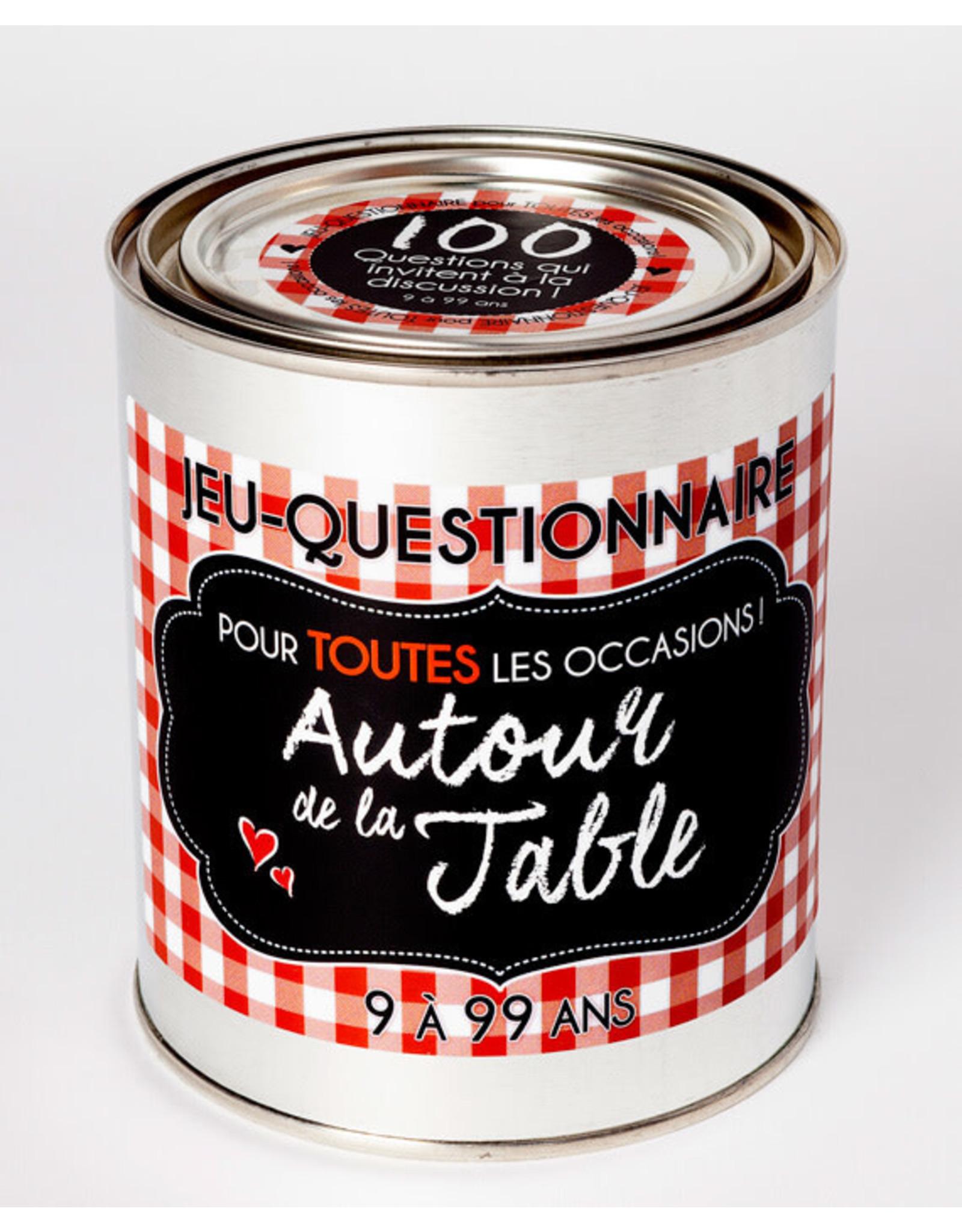 NC5 Autour De La Table Questionnaire