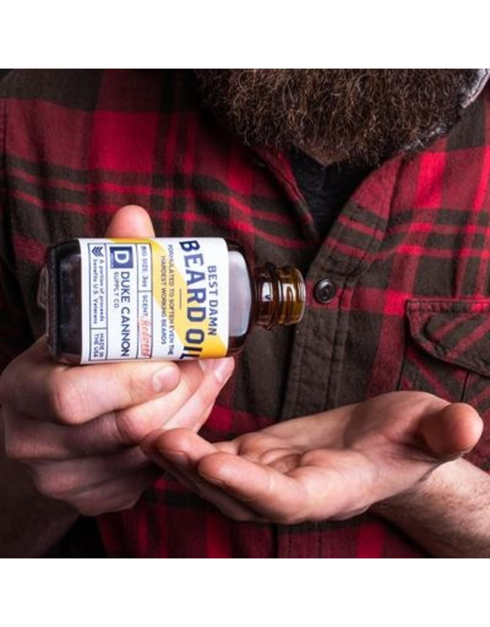 Best Damn Beard Oil 3 oz