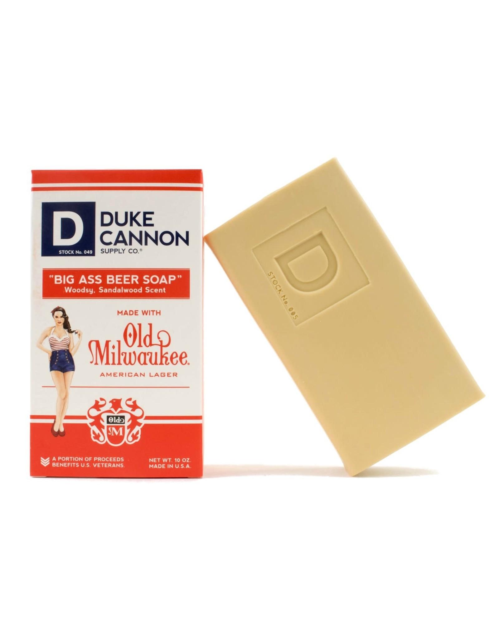 Duke Cannon Beer Soap