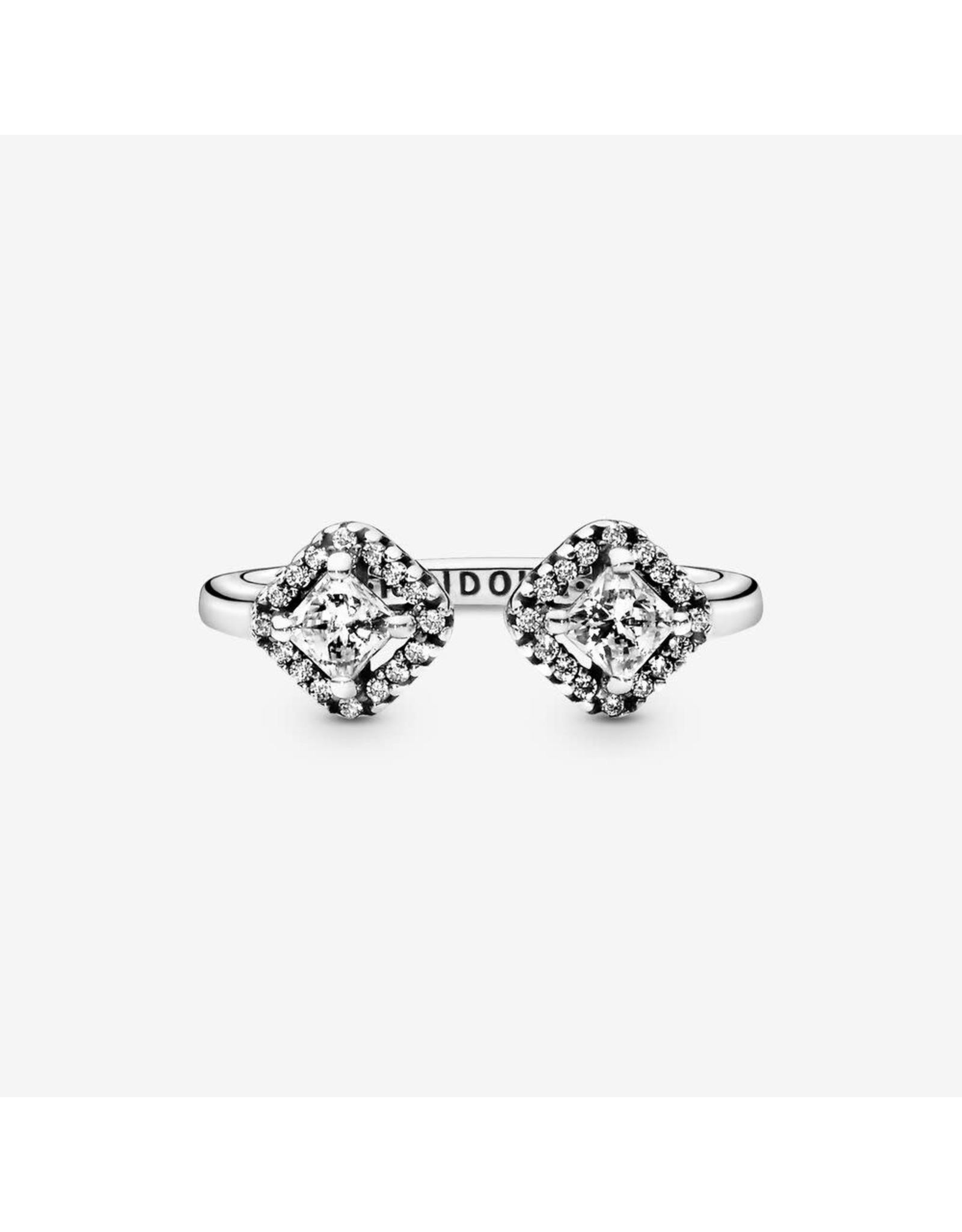 Pandora Pandora Ring, Open Ring, Clear CZ