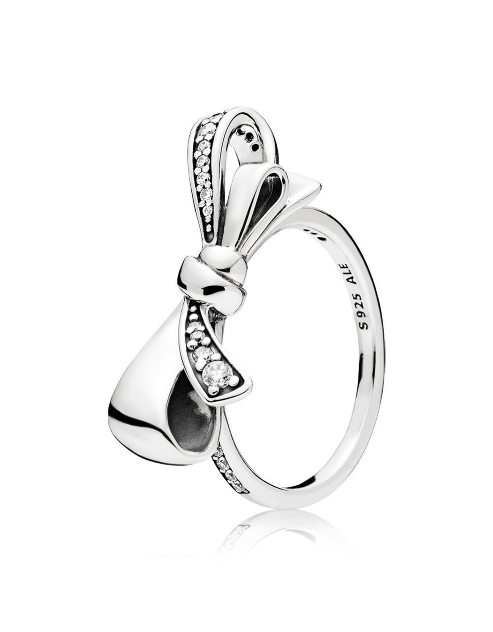 Pandora Pandora Ring, Brillant Bow, Clear CZ