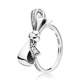 Pandora Pandora Ring, Brillant Bow, Clear CZ