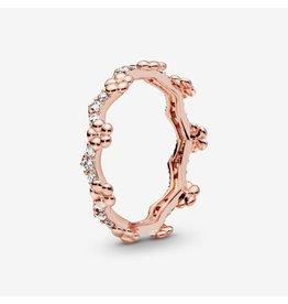 Pandora Pandora Ring, Rose Gold, Flower Crown
