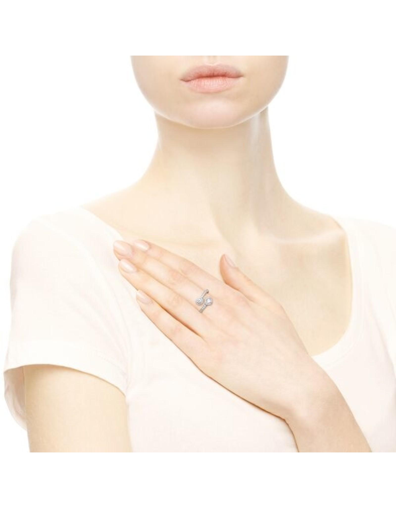 Pandora Pandora Ring, Abstract Elegance, Clear CZ