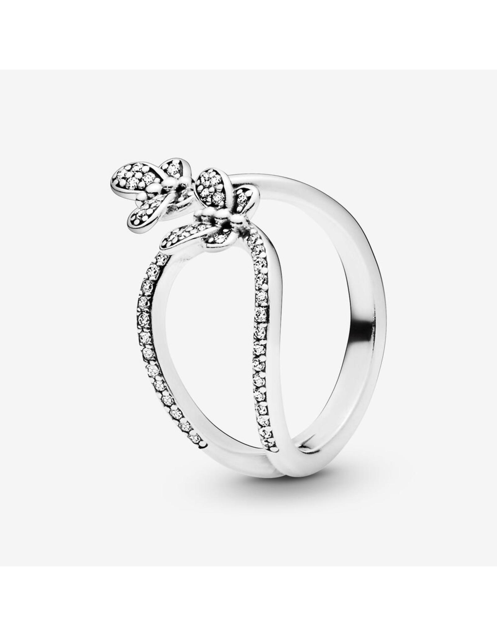 Pandora Pandora Ring Bedazzling Butterflies