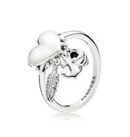 Pandora Pandora Ring, Anchor, Shell & Feather Heart