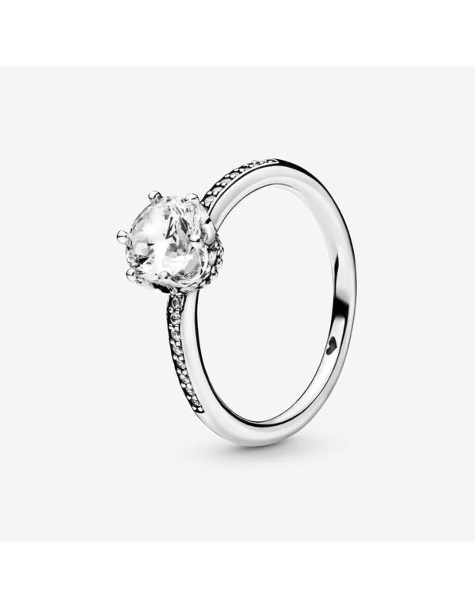 Pandora Pandora Ring, (198289CZ) Sparkling Crown, Clear CZ