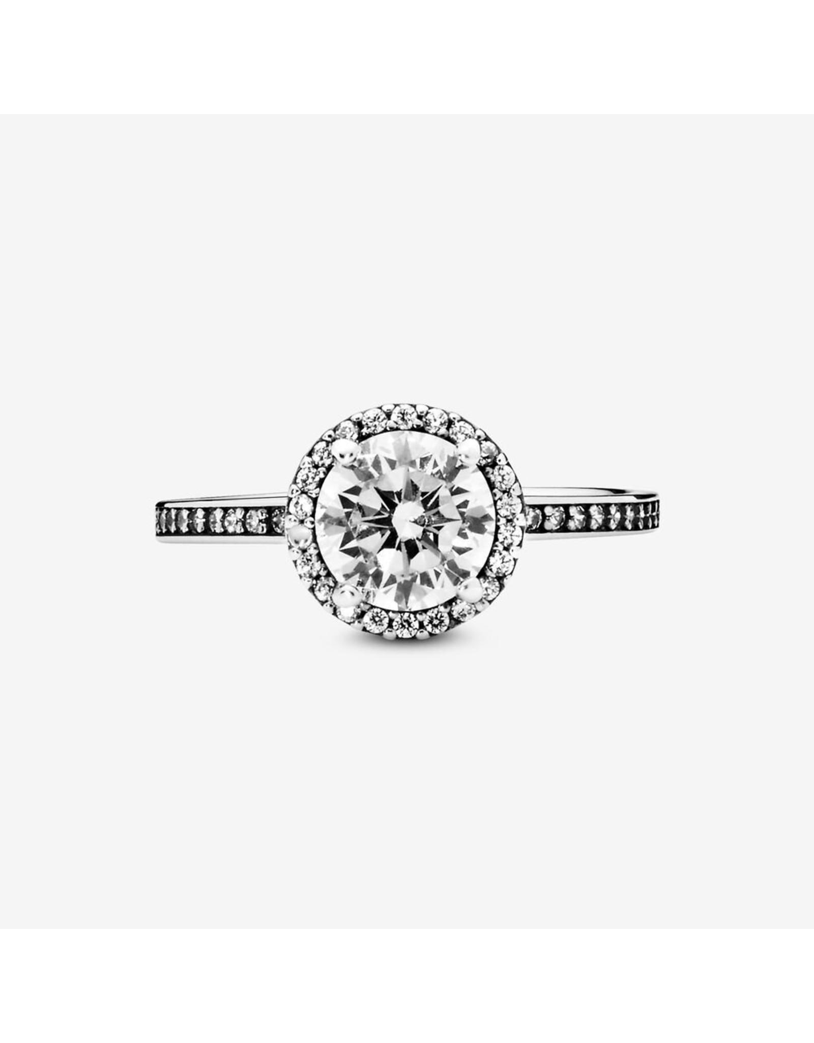 Pandora Pandora Ring,(196250CZ) Classic Elegance