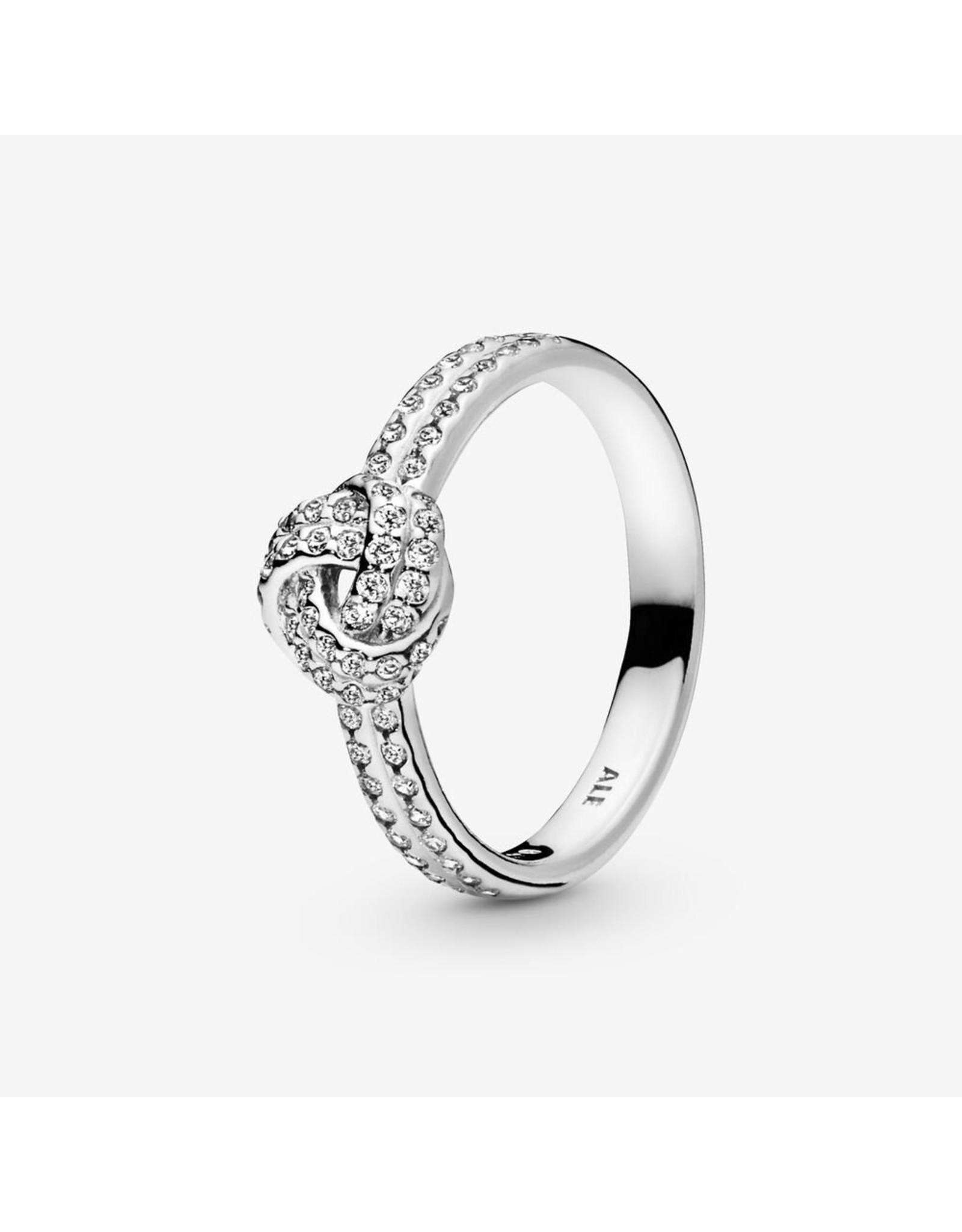 Pandora Pandora Ring,190997CZ, Sparkling Love Knot