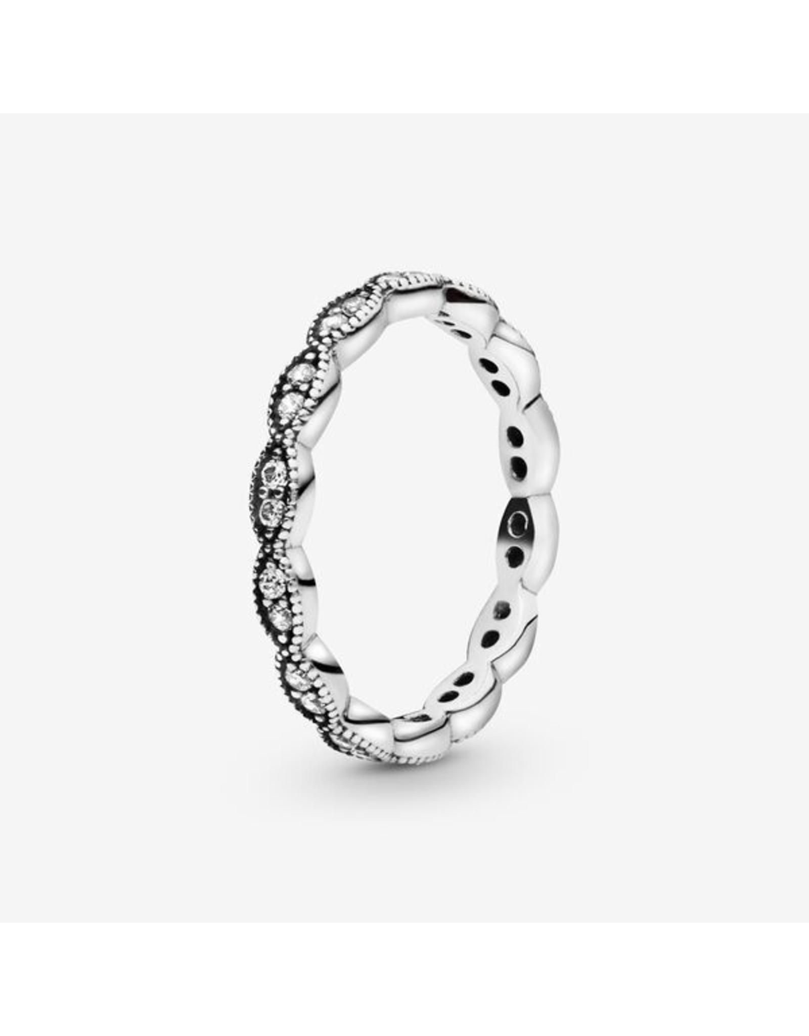 Pandora Pandora Ring, Sparkling Leaves
