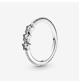 Pandora Pandora Ring, (198492C01) Celestial Stars, Clear CZ