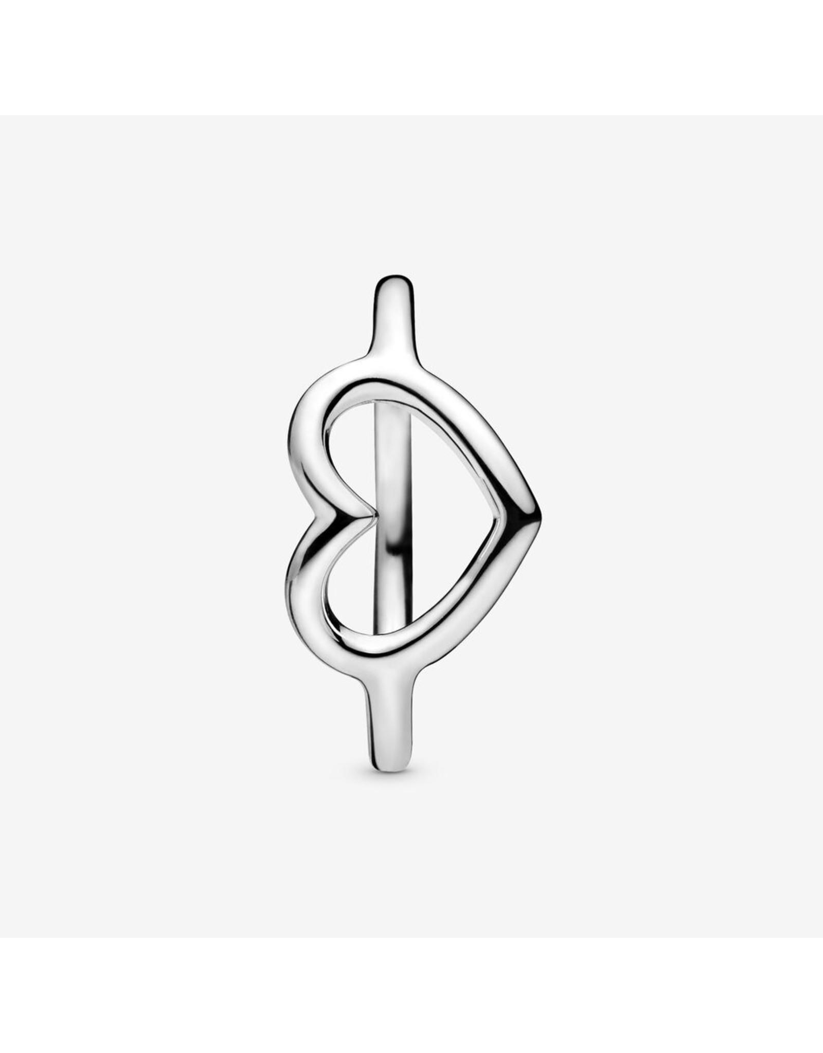 Pandora Pandora Ring, Polished Open Heart