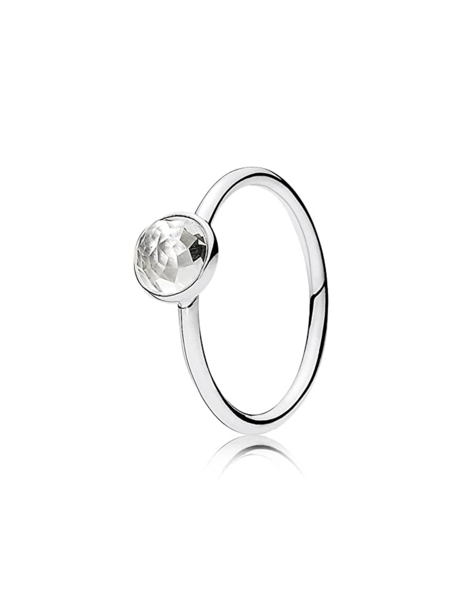 Pandora Pandora Ring, April Droplet, Crystal
