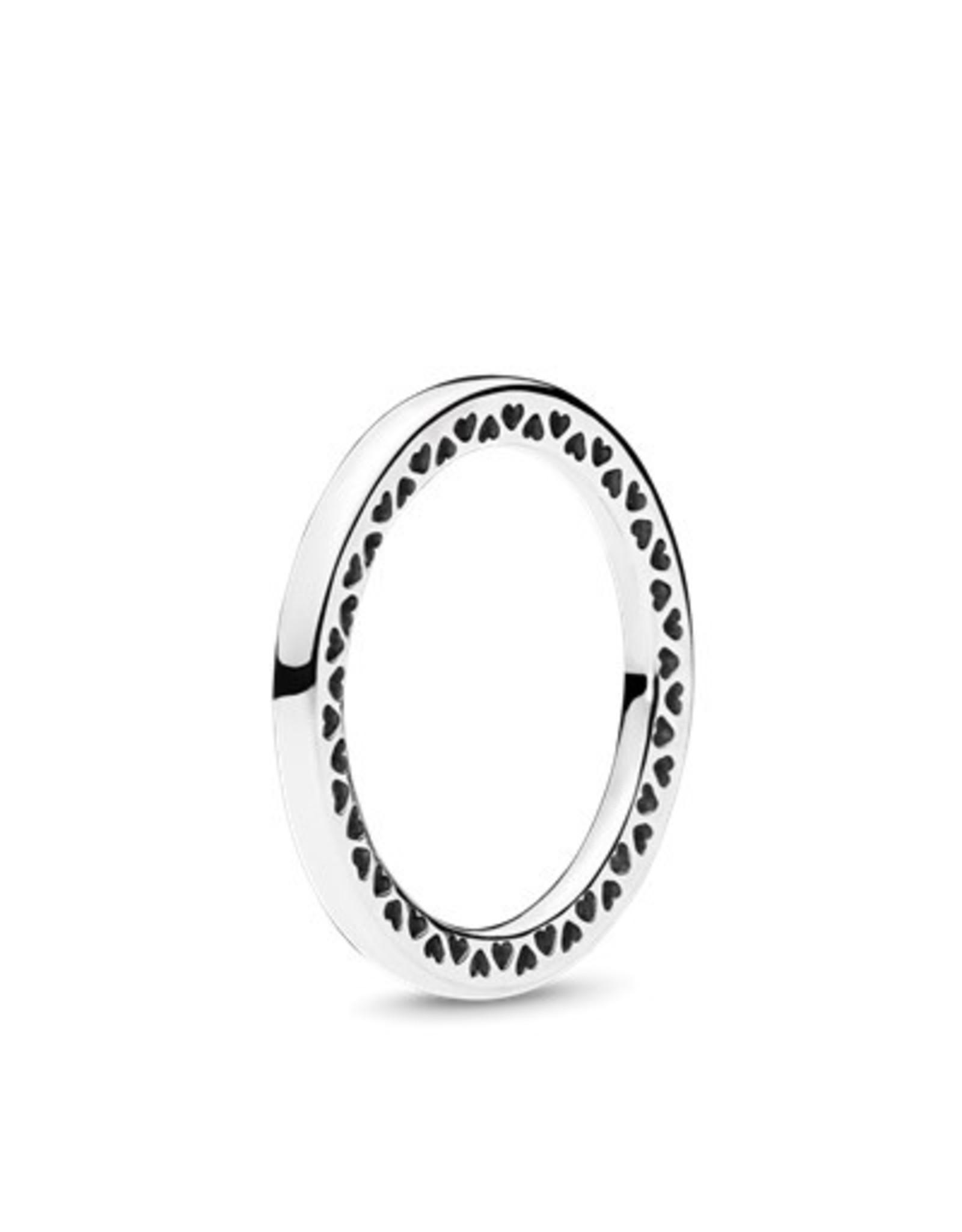 Pandora Pandora Ring, Classic Hearts Of Pandora