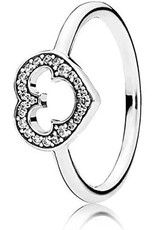 Pandora Pandora Ring, Disney, Mickey Silhouette