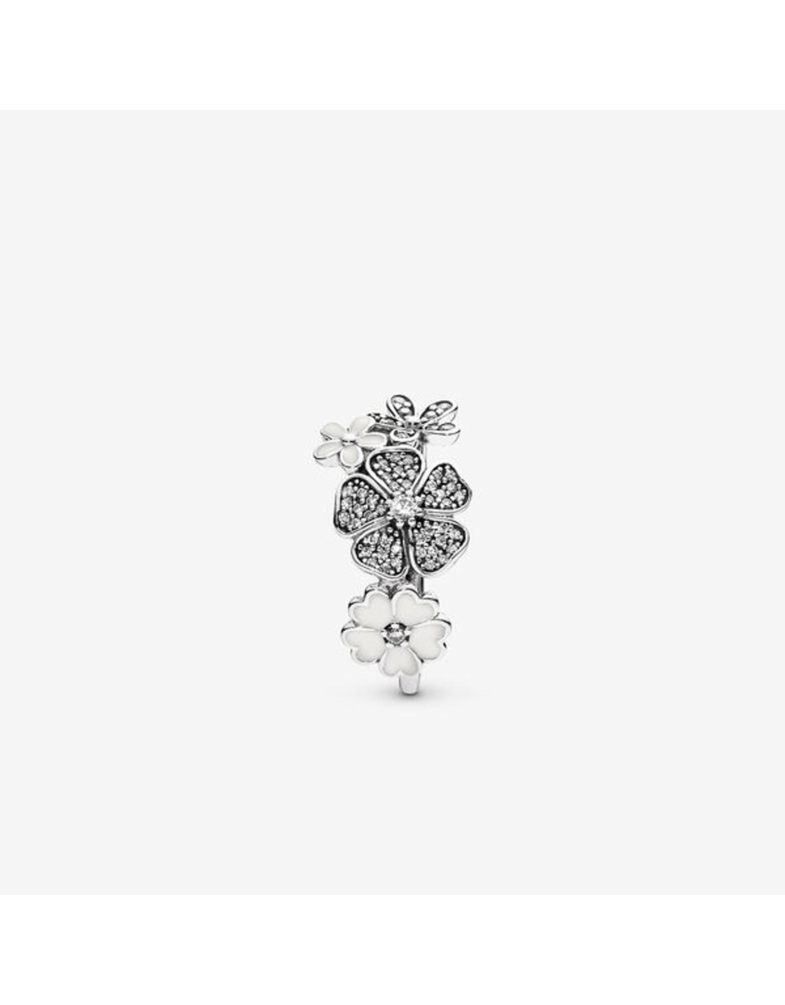 Pandora Pandora Ring, Shimmering Bouquet