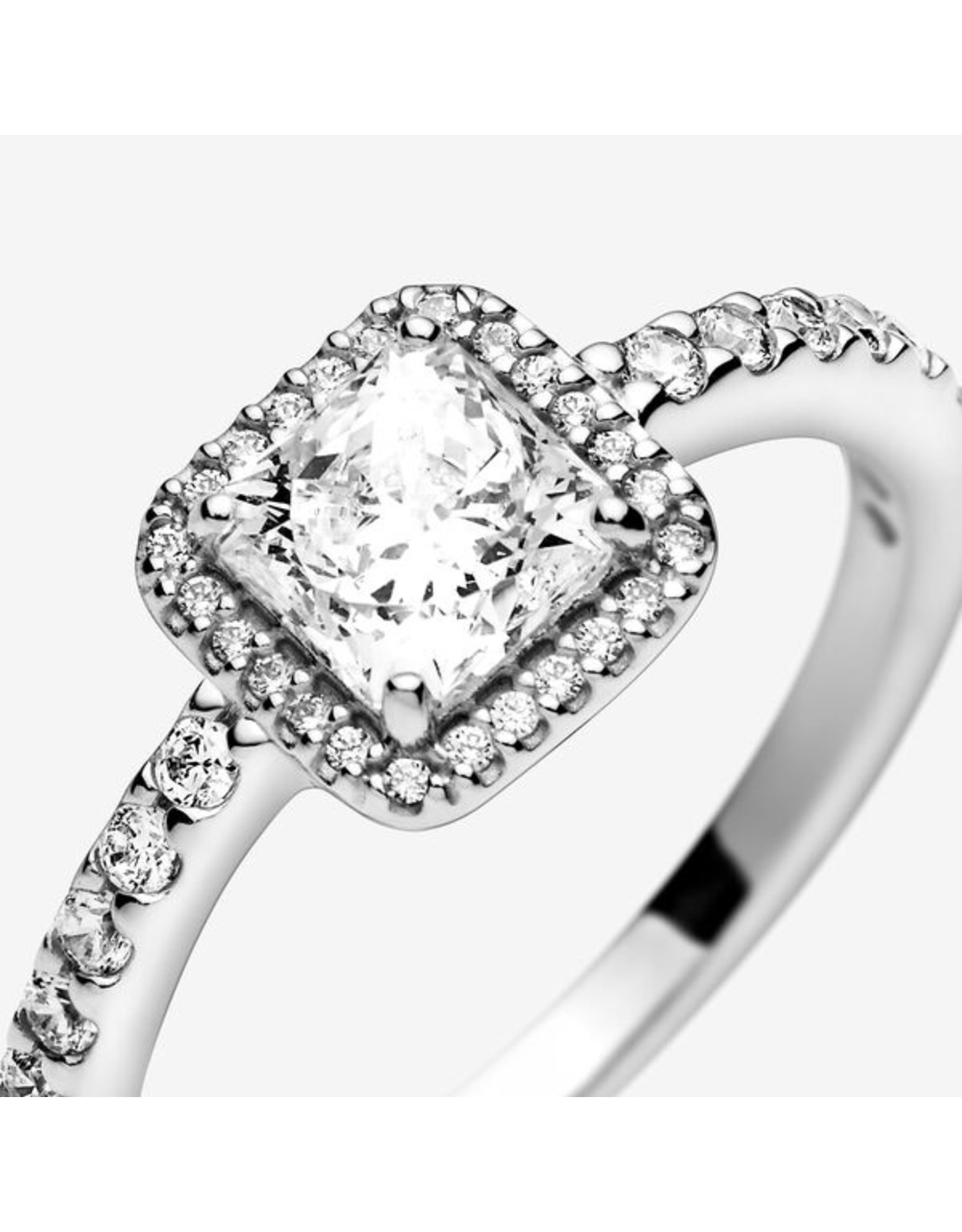 Pandora Pandora Ring,(198863C01) Timeless Elegance Clear CZ