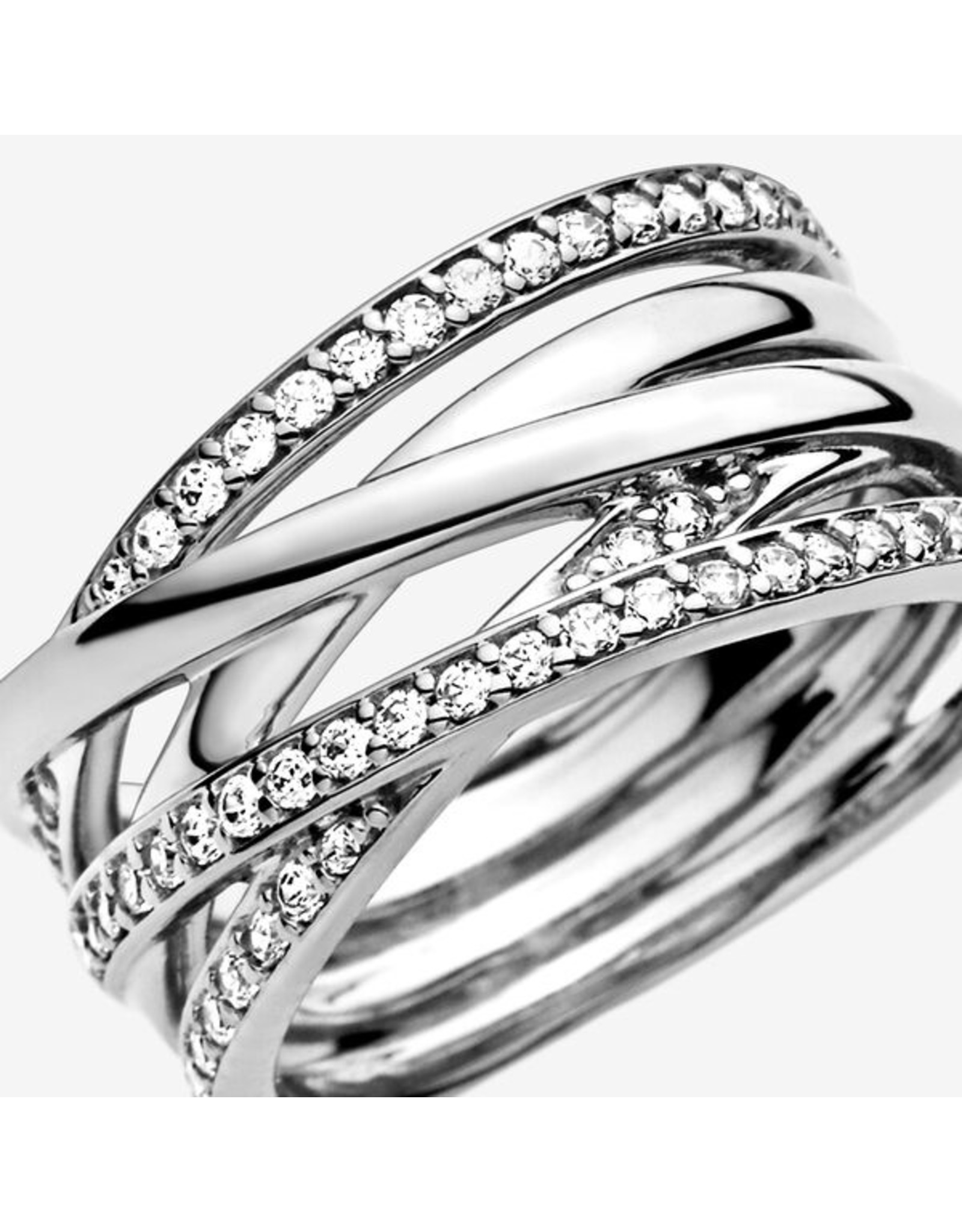 Pandora Pandora Ring,( 190919CZ) Entwined