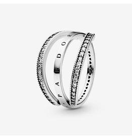 Pandora Pandora Ring, Pandora Logo and Hearts