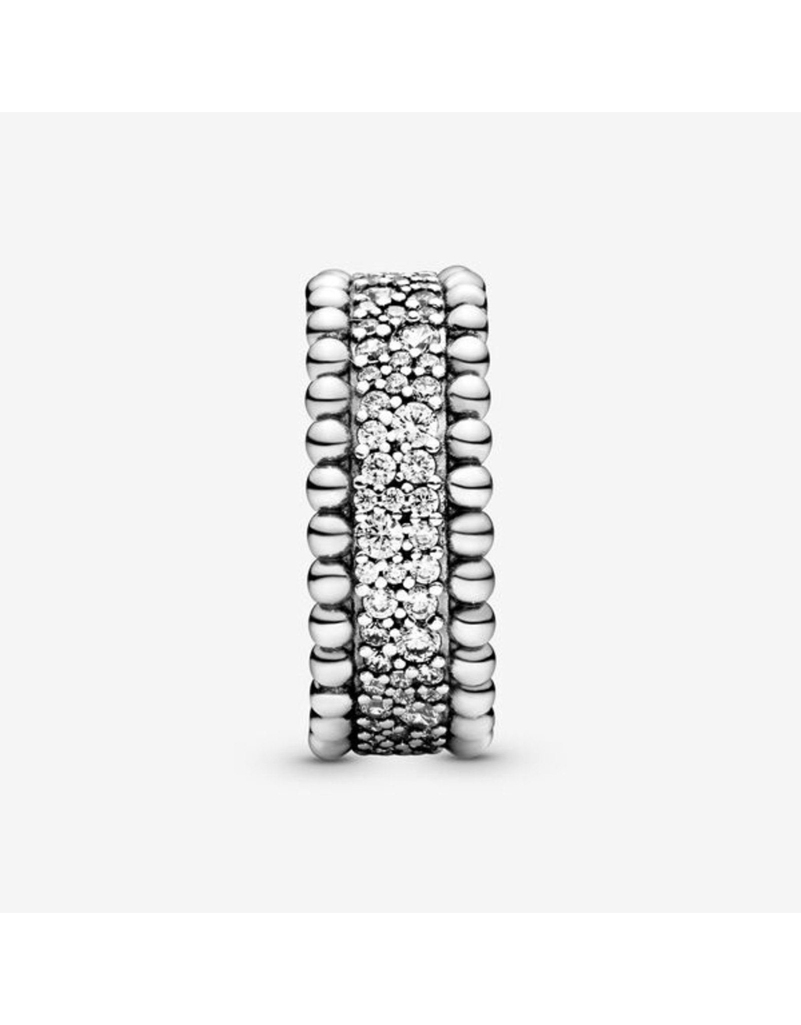 Pandora Pandora Ring, Beaded Pave Band