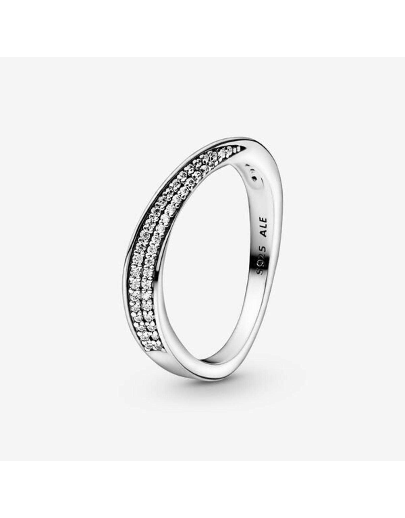 Pandora Pandora Ring, Pave Wave