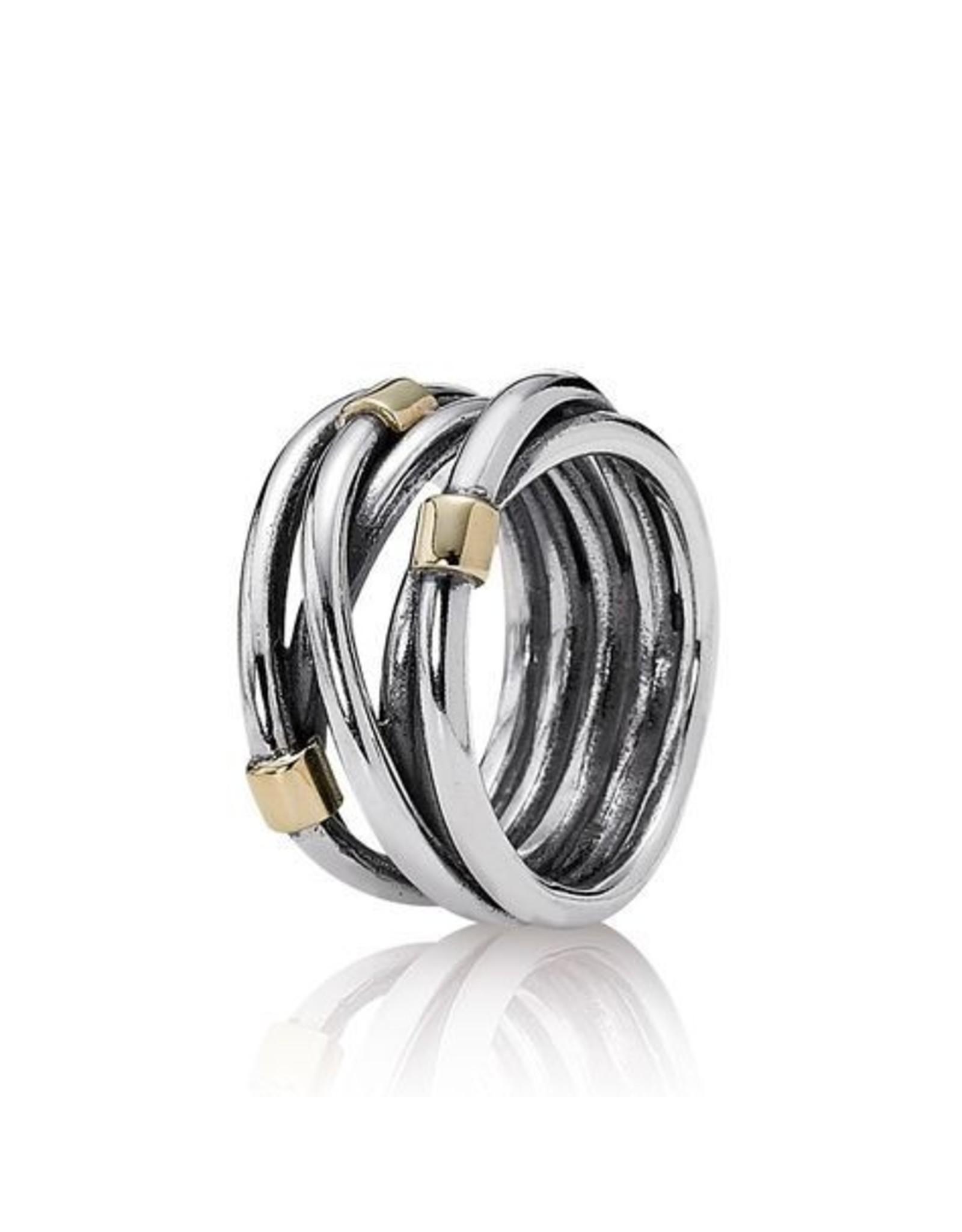 Pandora Pandora Ring, Silver Rope