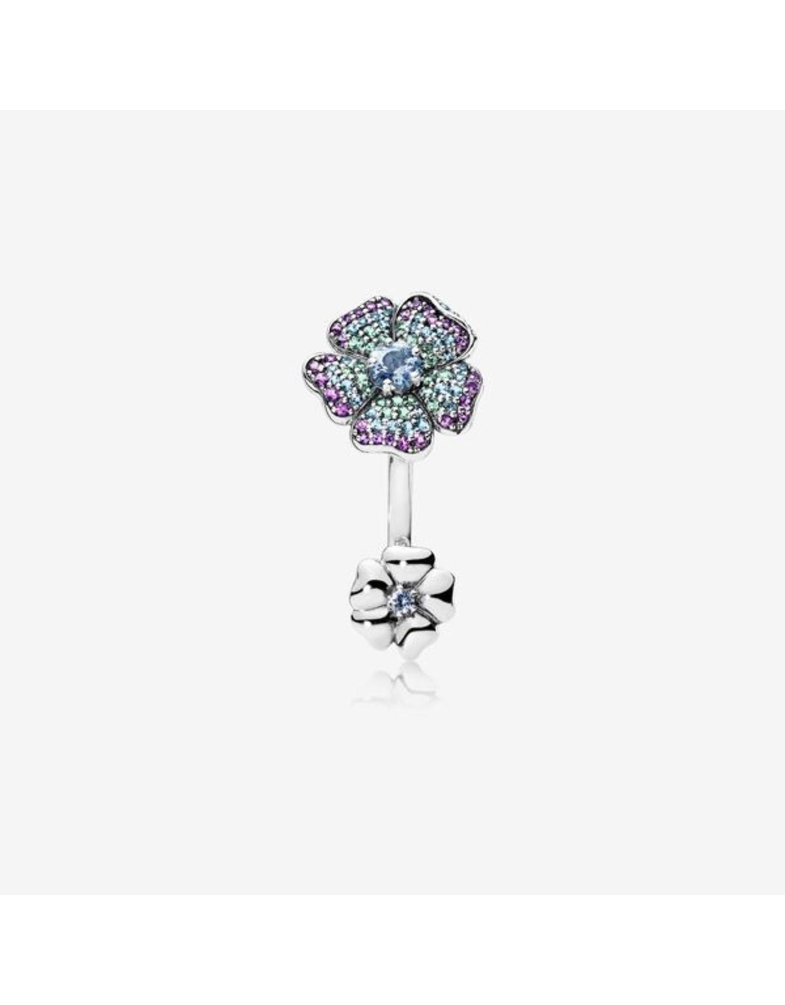 Pandora Pandora Ring, Glorious Blooms, Multi-Colored CZ