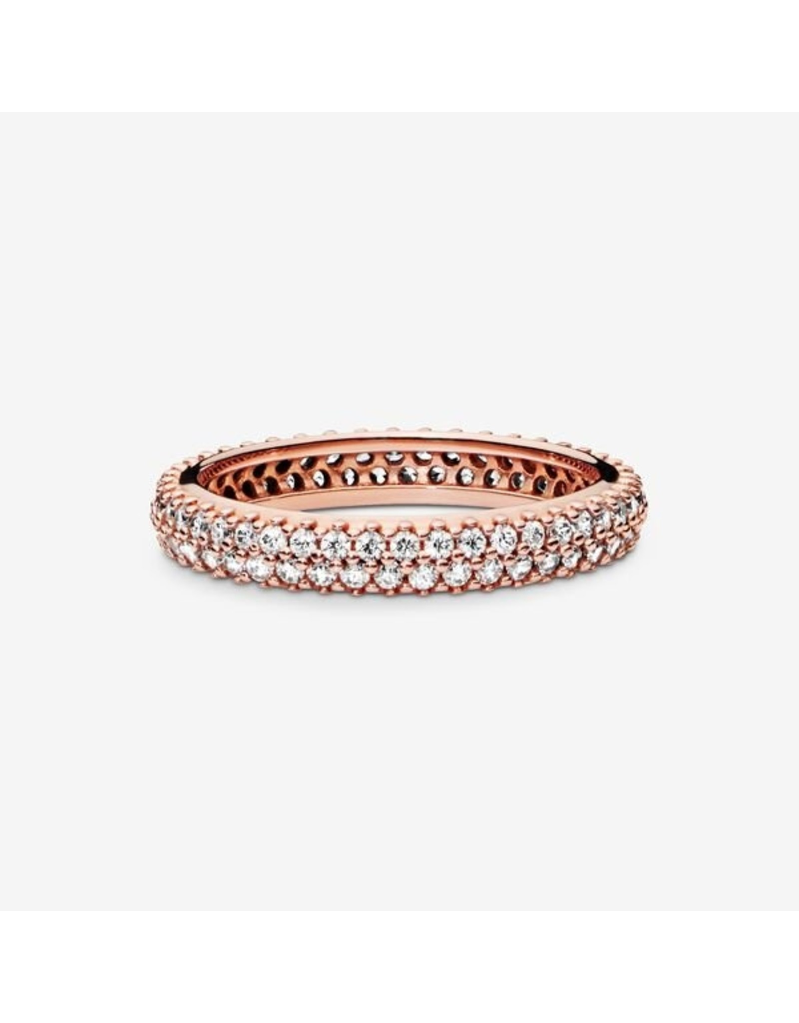 Pandora Pandora Ring, (180909CZ) Rose Gold, Inspiration Within, Clear CZ