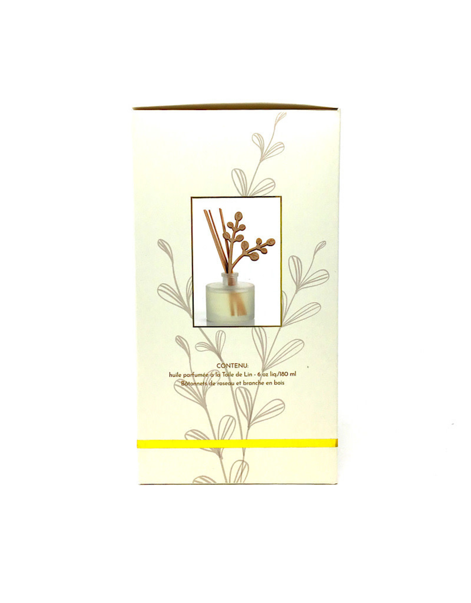 Earth Luxe Diffuser Reed Wood & Glass Set