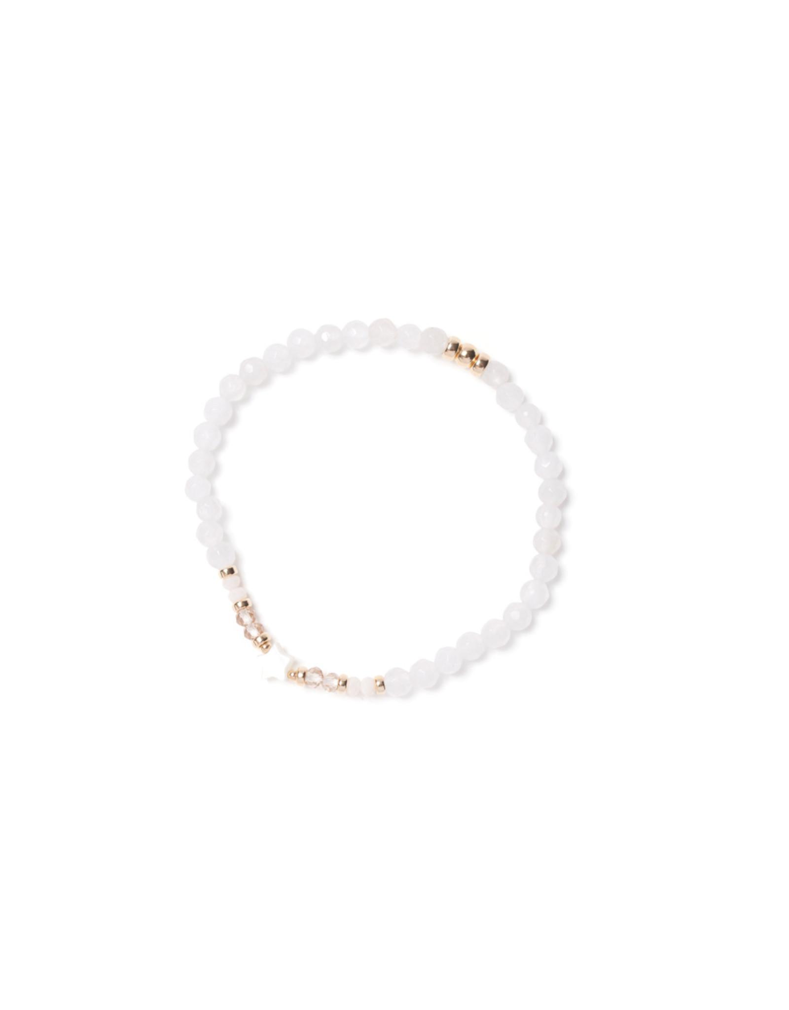 Beblue beblue Glimmering Bracelet White (BBSURGLIM-CO)