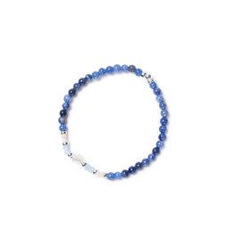Beblue beblue Glimmering Bracelet, Blue (BBGLIM-OB)