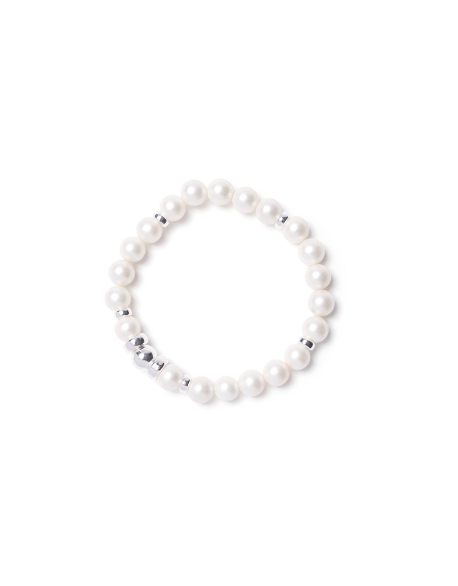 Beblue beblue Timeless Bracelet, White Matte (BBTIME-PWM)