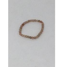 Beblue beblue Tan & Rose Gold Bracelet (BBROSSMOOTH-TA)