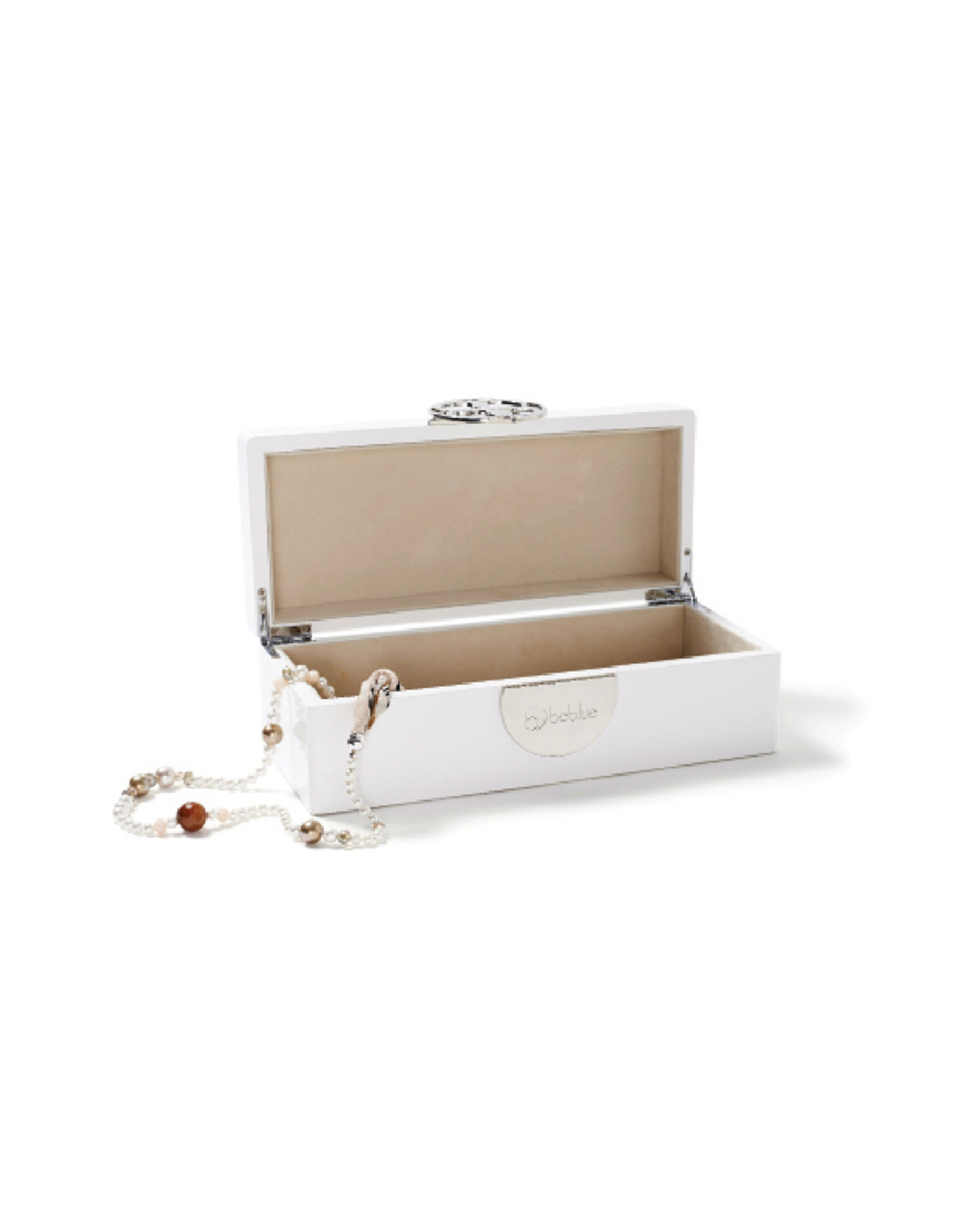 Beblue beblue Spirit Jewelry Box, White (BARCOFFRE-W)