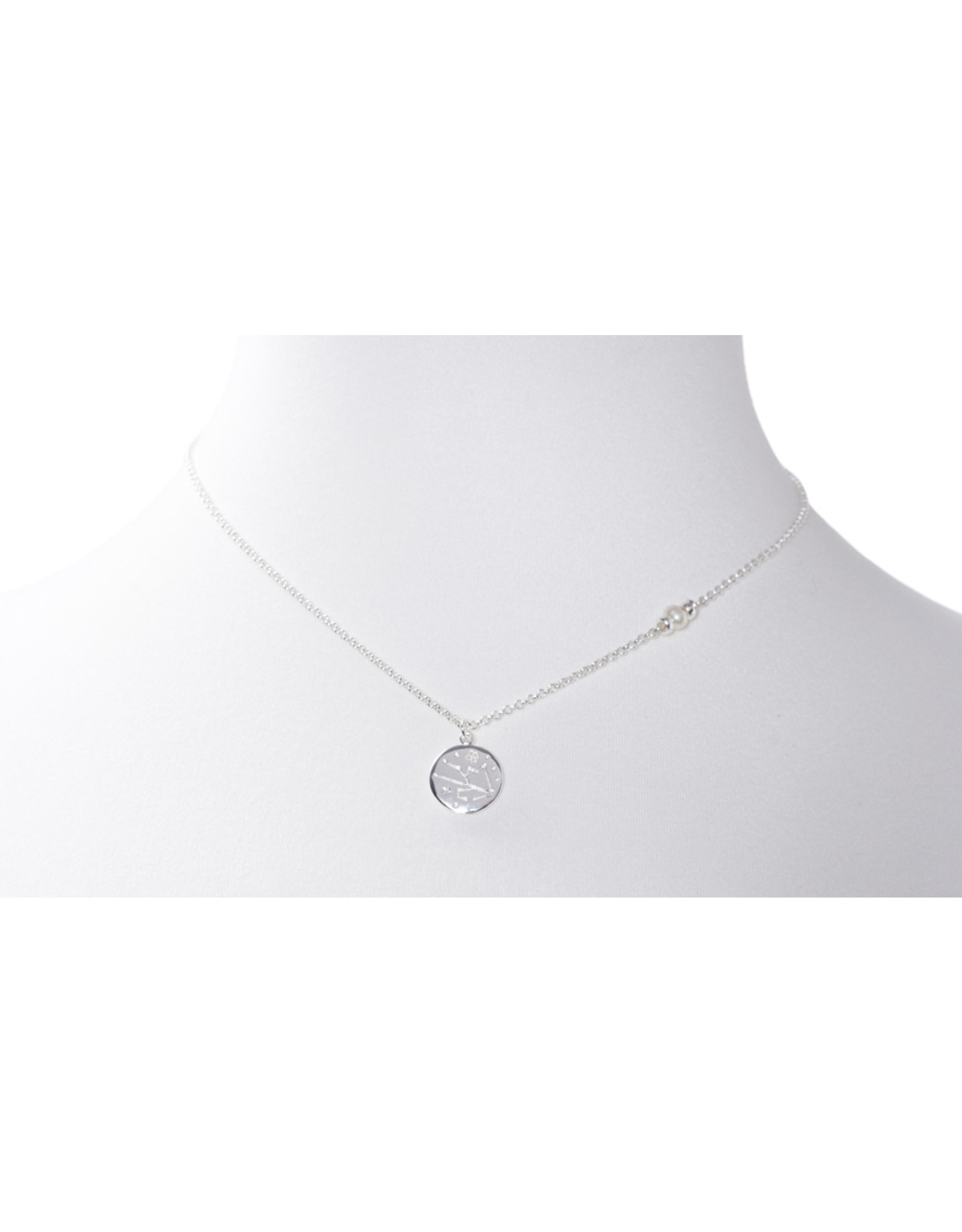 Beblue beblue Silver Chain Zodiac Sign, Leo (BCHYOUR-LEO)