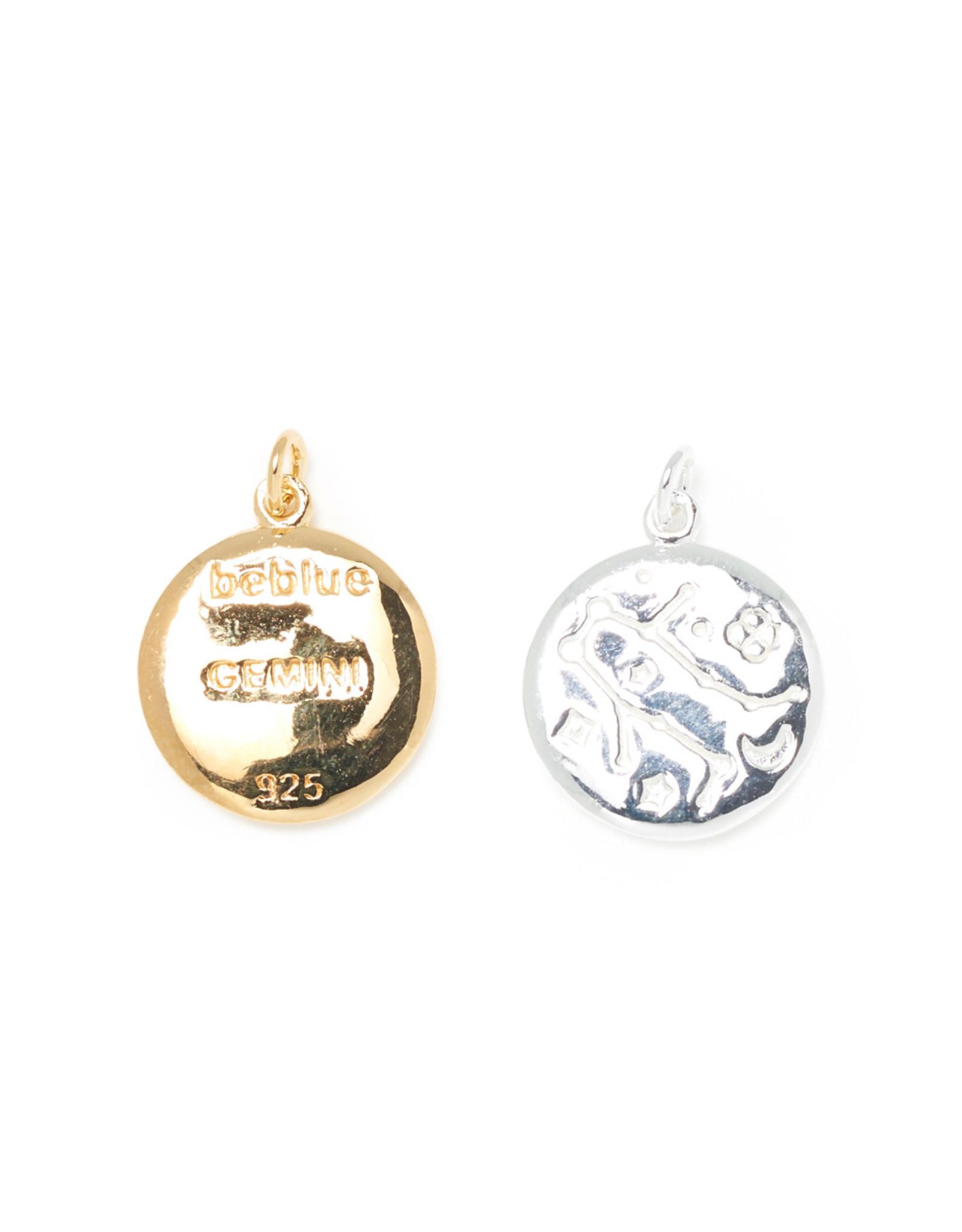Beblue beblue Silver Chain Zodiac Sign, Gemini (BCHYOUR-GEM)