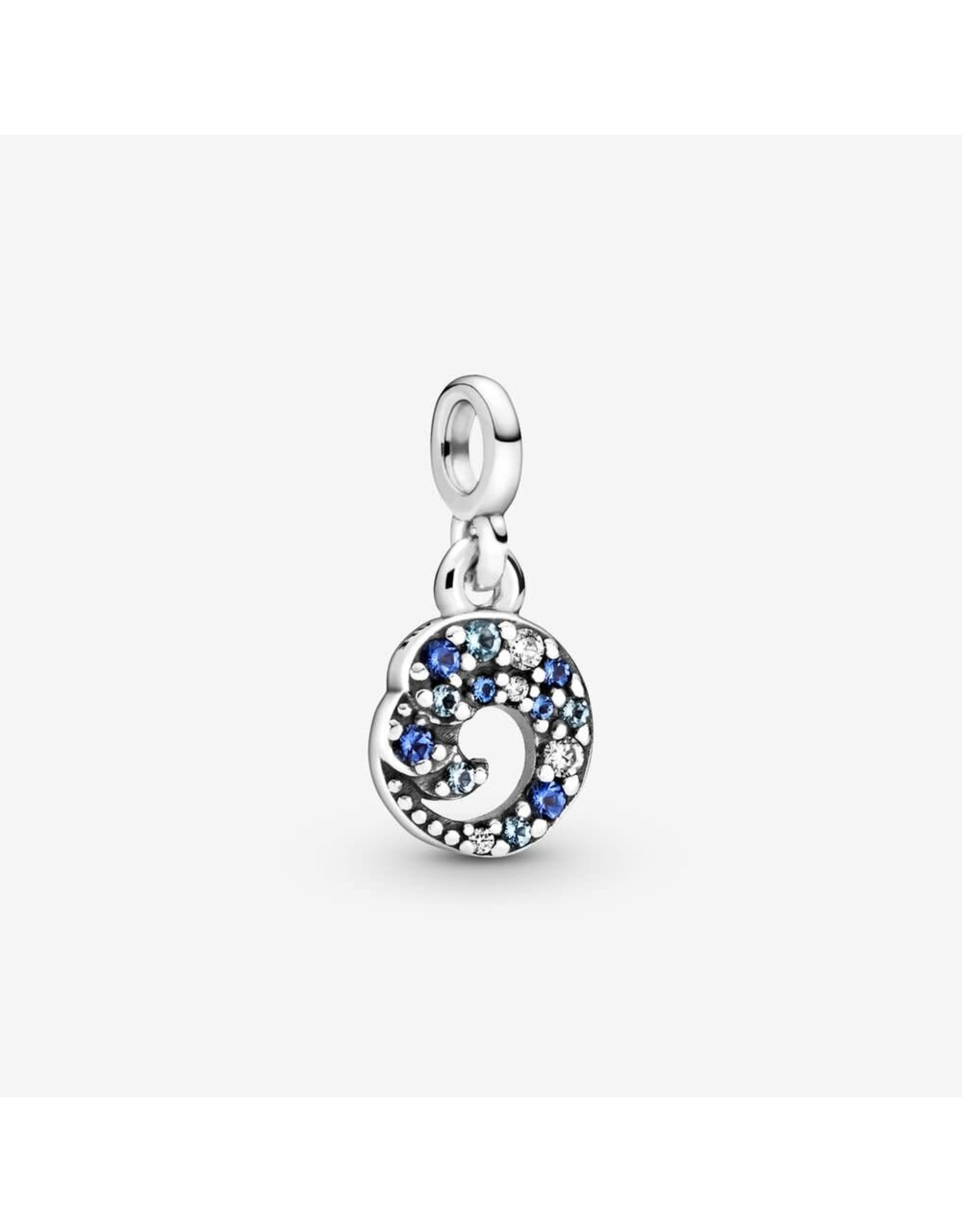 Pandora Pandora Me, 799010C01 Wave Sterling Silver Dangle