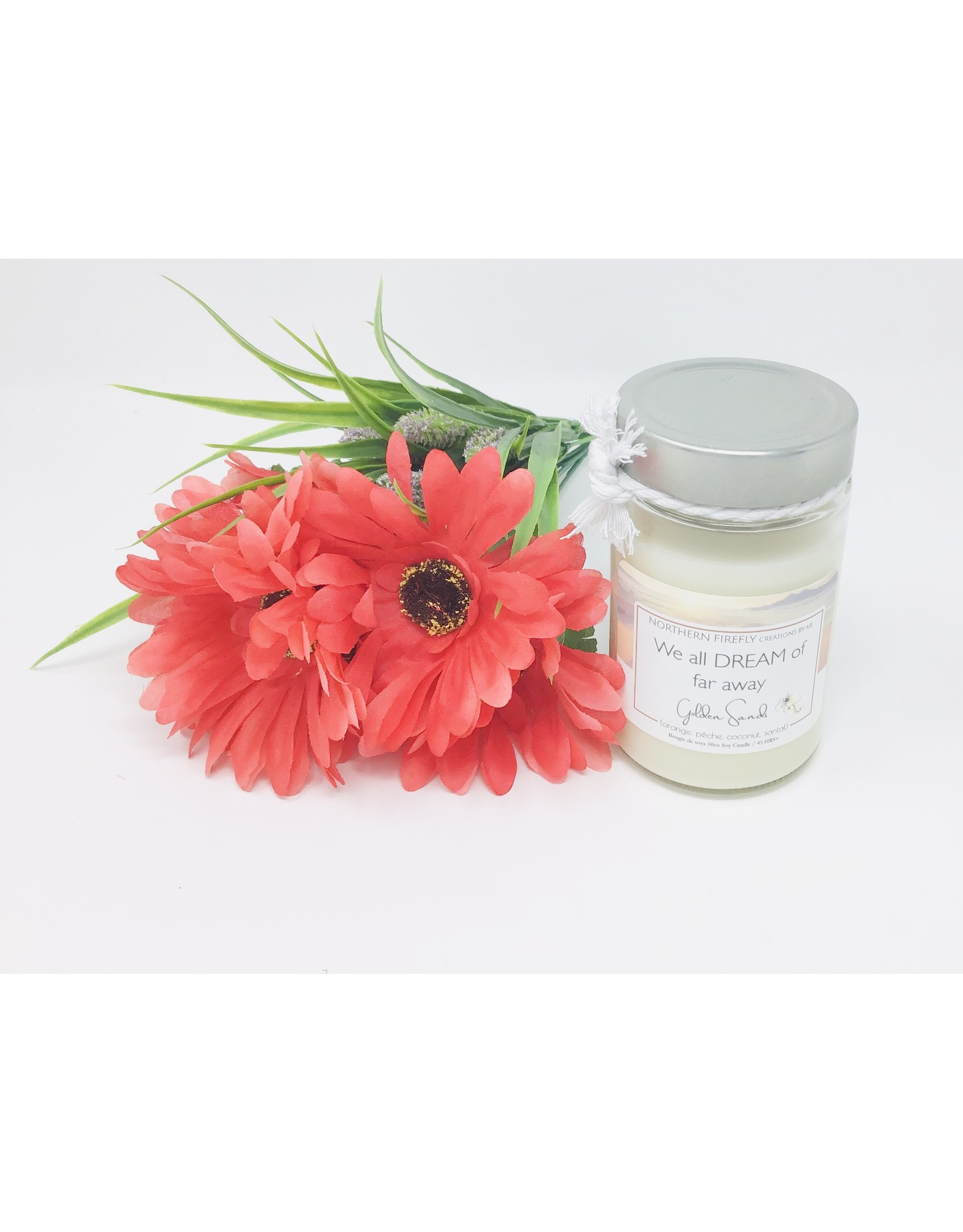 Northern Firefly Candle, Collection Ete